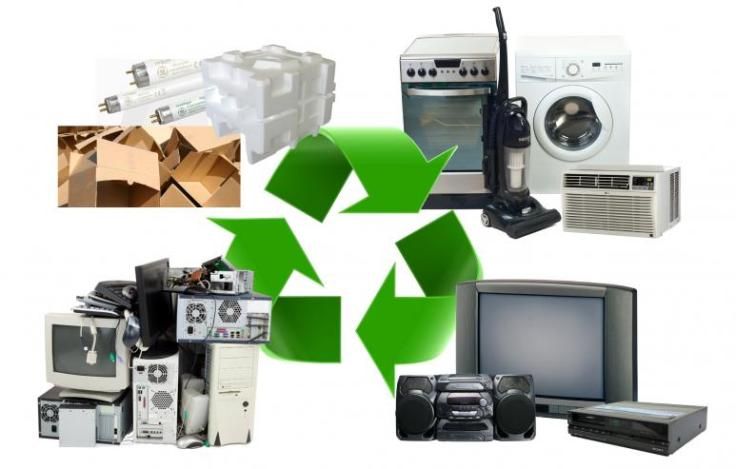 recycle old electronic stuff