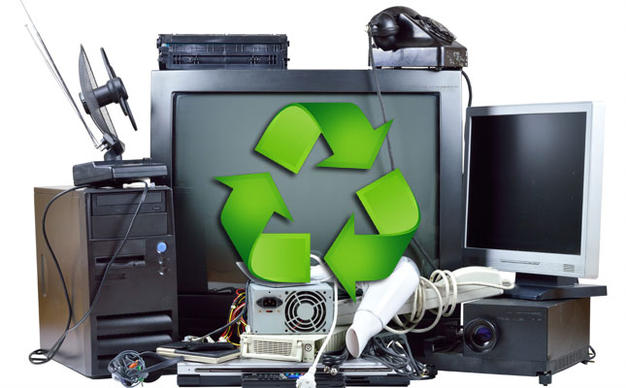 recycle old electronic